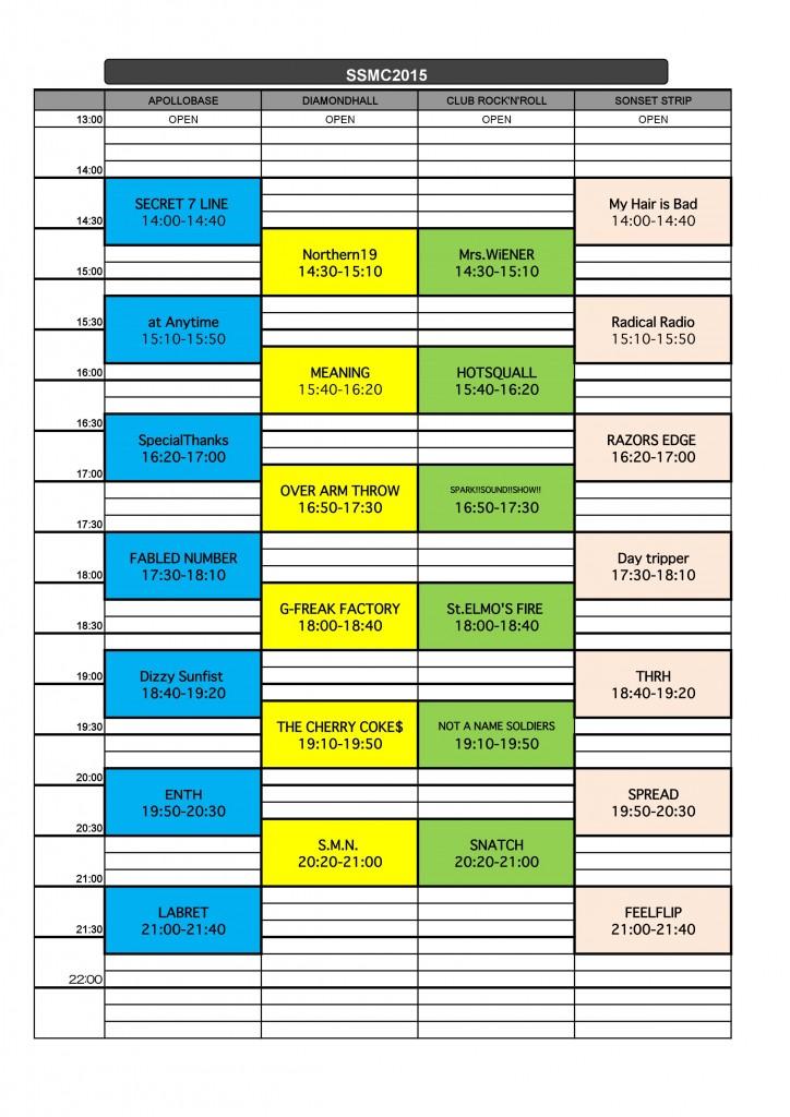 2015.5.17 SSMC 2015 T.T