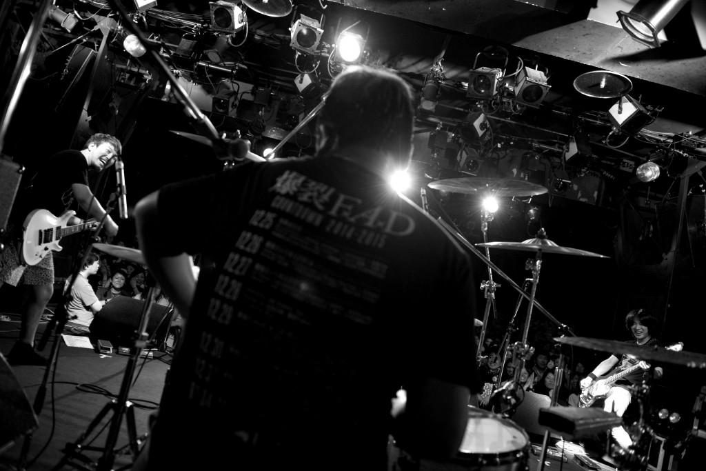 '15.6.12 OVER ARM THROW 名古屋CLUB QUATTRO 「PANベストアルバム『ベスト盤゜』リリースツアー」
