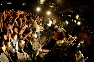 OVER ARM THROW '15.11.12 F.A.D YOKOHAMA 「Keep it burning! vol.1」
