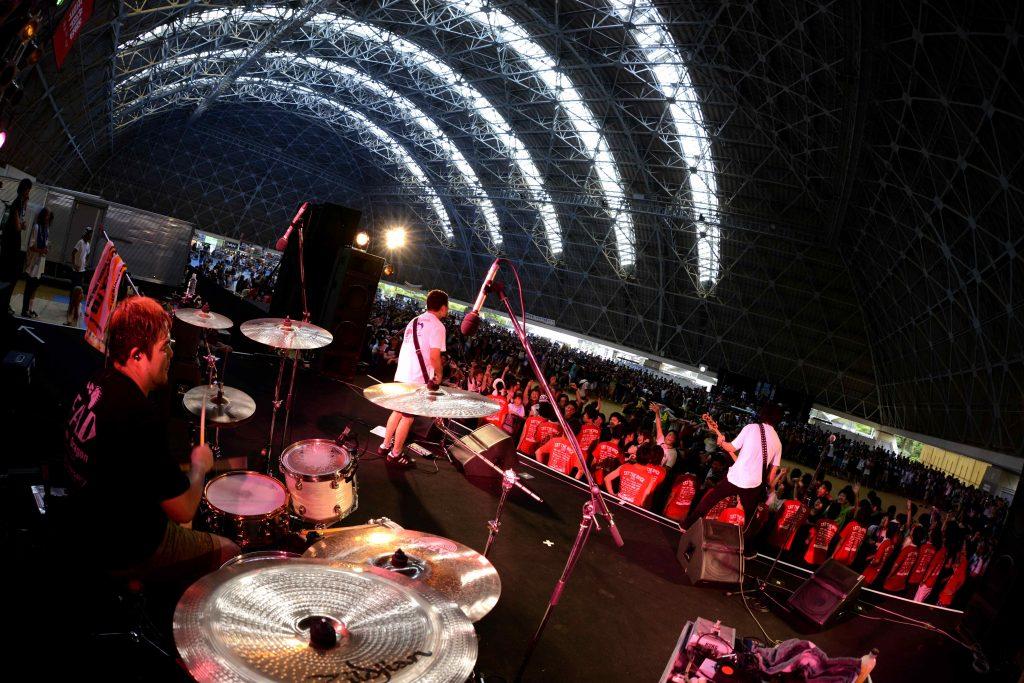 '16.8.6 滋賀県 竜王町総合運動公園 「EAT THE ROCK 2016 -竜王食音祭-」